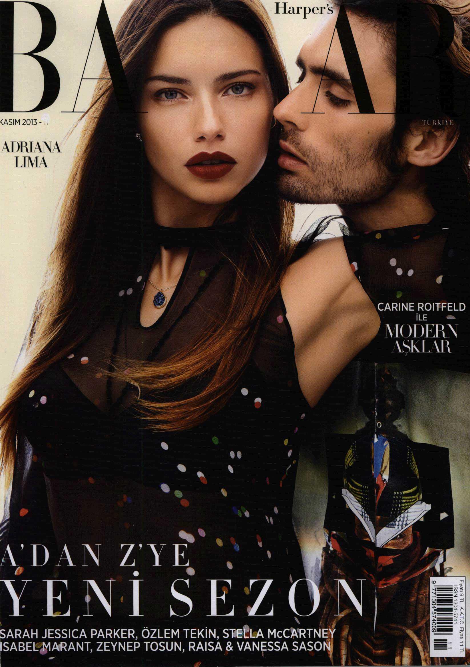 2013 Kasım Harper';s Bazaar - Merve Bayındır Ürün Çekimi